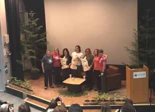 Speaker line-up at Women In Trees conference.