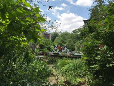 Community Garden, NYC. Photo: Adrina C. Bardekjian